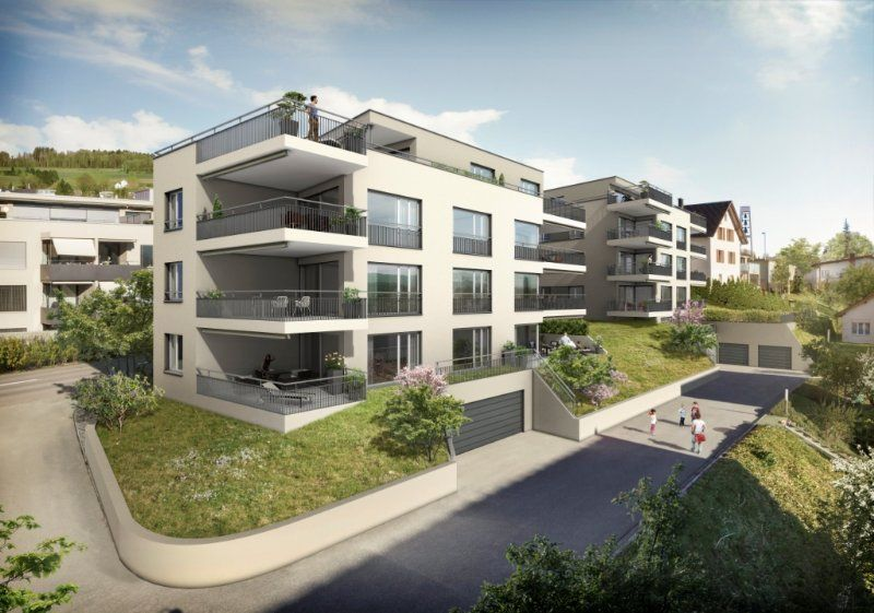 14 Eigentumswohnungen Grandezza – Weitsicht im Zentrum